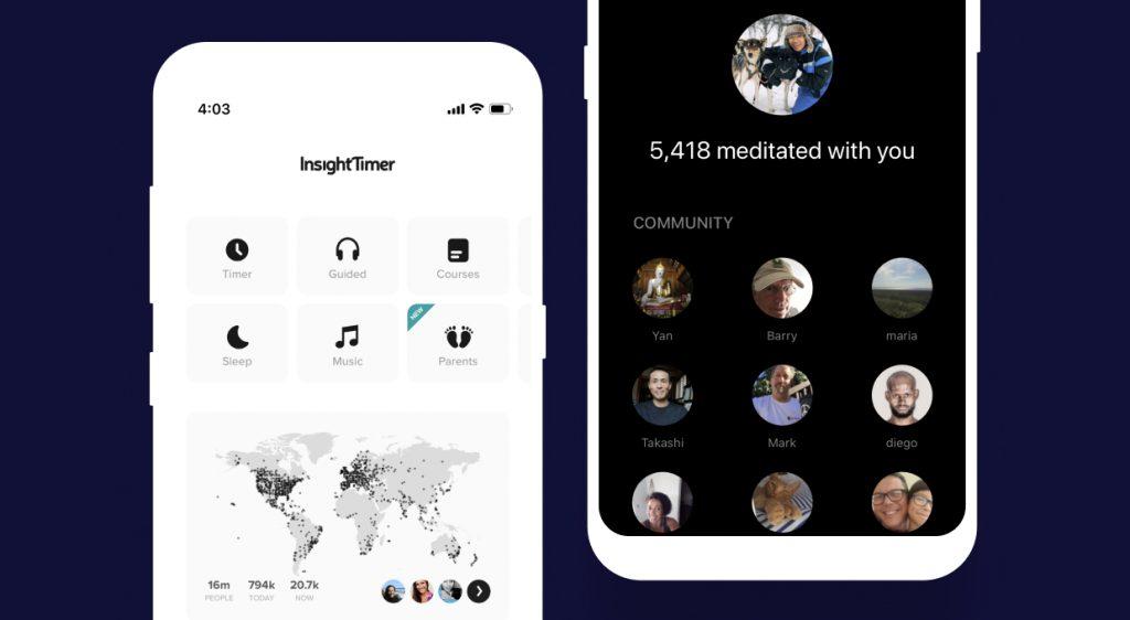 Insight Timer - Social proof