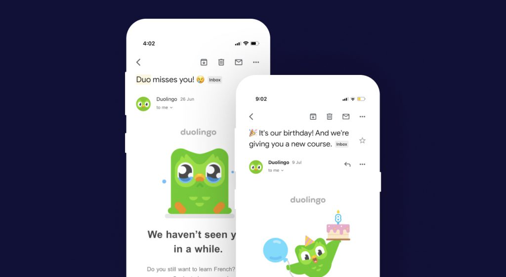 Duolingo Mobile app