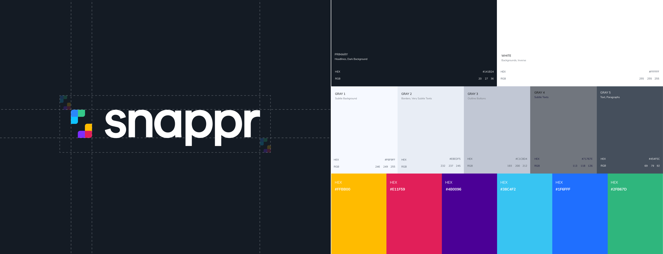 Snappr branding Raw Studio