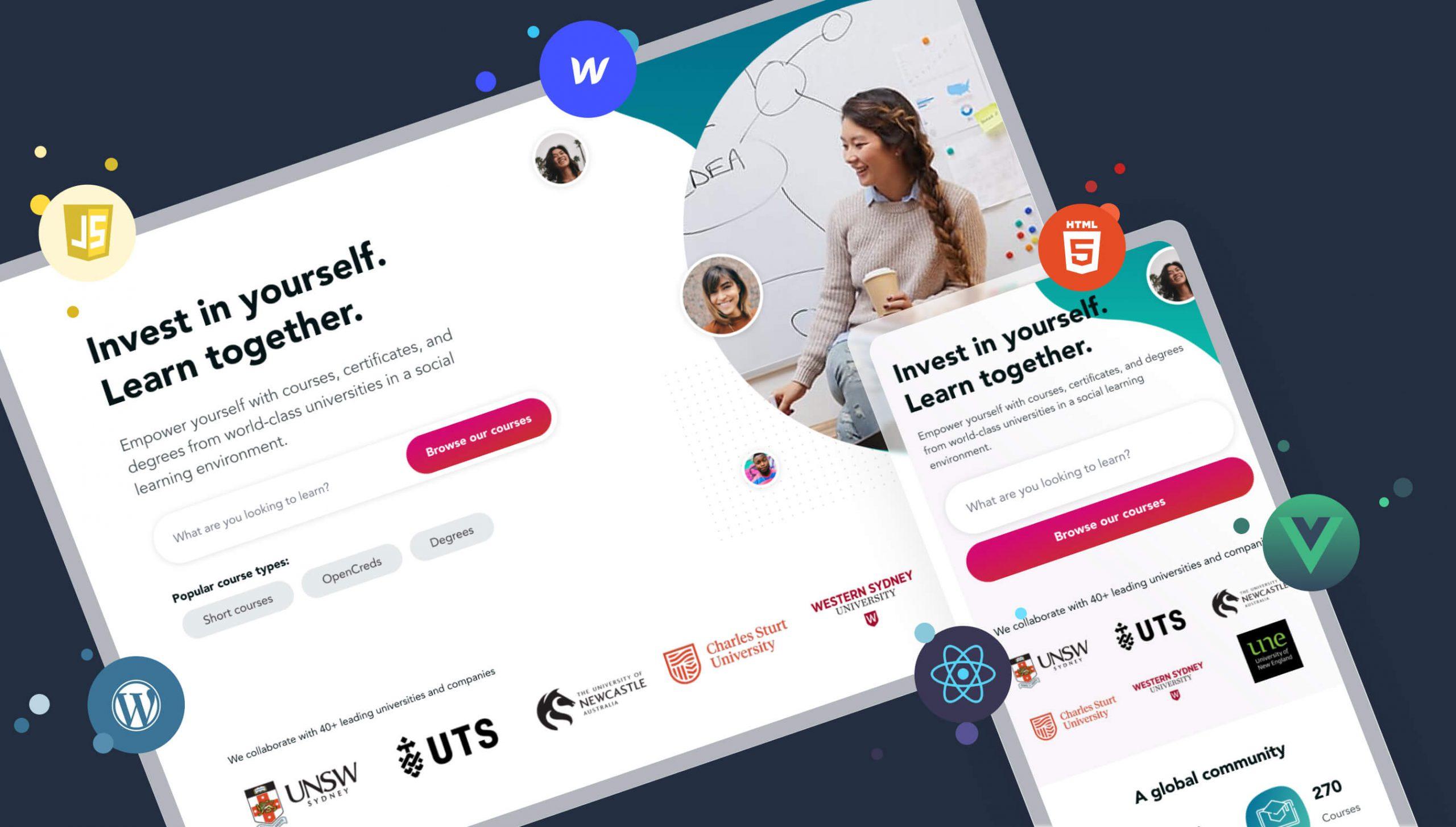 web development raw studio